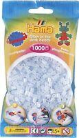 Hama - 207-57 - Loisirs Créatifs - Sachet 1000 Perles Phosphorescent Bleu