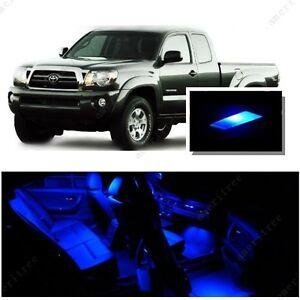 For toyota tacoma 2005 2015 blue led interior kit blue - Toyota tacoma led interior lights ...