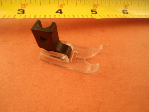 Low shank Zigzag Presser Teflon Plastic Clear Foot Kenmore Brother Singer Janome