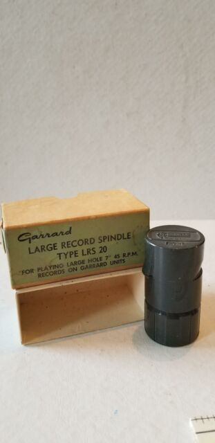 Garrard Large Record Spindle Type LRS 20