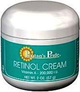 Retinol Cream (Vitamin A 100,000 IU Per Oz.) - Puritan's