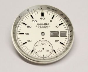 White-Dial-With-tachymeter-Inner-Dial-Ring-Vintage-SEIKO-Helmet-Chrono-6139-7100