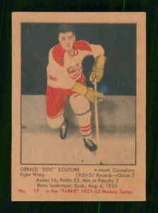 GERALD-DOC-COUTURE-RC-1951-52-PARKHURST-1951-52-NO-17-EX-41438