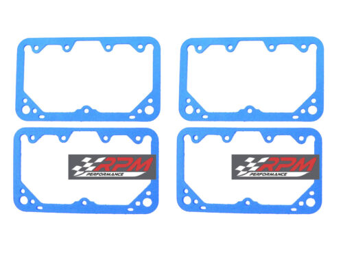 Holley Fuel Bowl Gaskets HOL-108-83-4 Carburetor NONSTICK REUSABLE 4 PACK G58