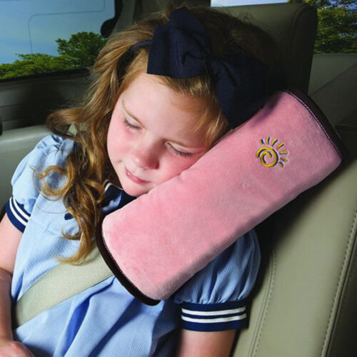 2X Child Seat Belt Pad Cushion Kids Safety Strap Cover Harness Pillow Shoulder