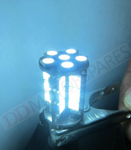 2 x BAY15d WHITE STOP//TAIL//BRAKE LED CANBUS BULB ERROR FREE 380 p21 1155 30 SMD