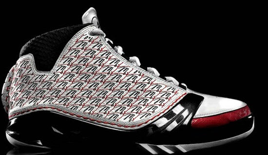 2008 Nike Air Jordan 23 XX3 White Black Varsity Red Size 12.5. 318376-101 1 2 12
