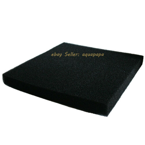 Bio Sponge Filter Media Pad Cut-to-fit Foam Up to 23.6 for Aquarium Fish Tank
