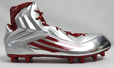 Adidas Techfit Silver and Red Football