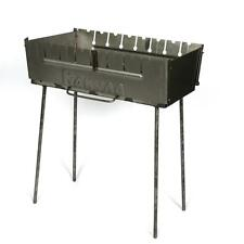 Portable Barbeque Grill Mangal BBQ Kabab Shashlyk Outdoor Stove 8 Skewer Brazier