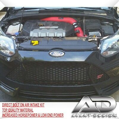 2013-2017 FORD FOCUS ST 2.0L 2.0 Turbo AF DYNAMIC 3.5 PIPE COLD AIR INTAKE RED