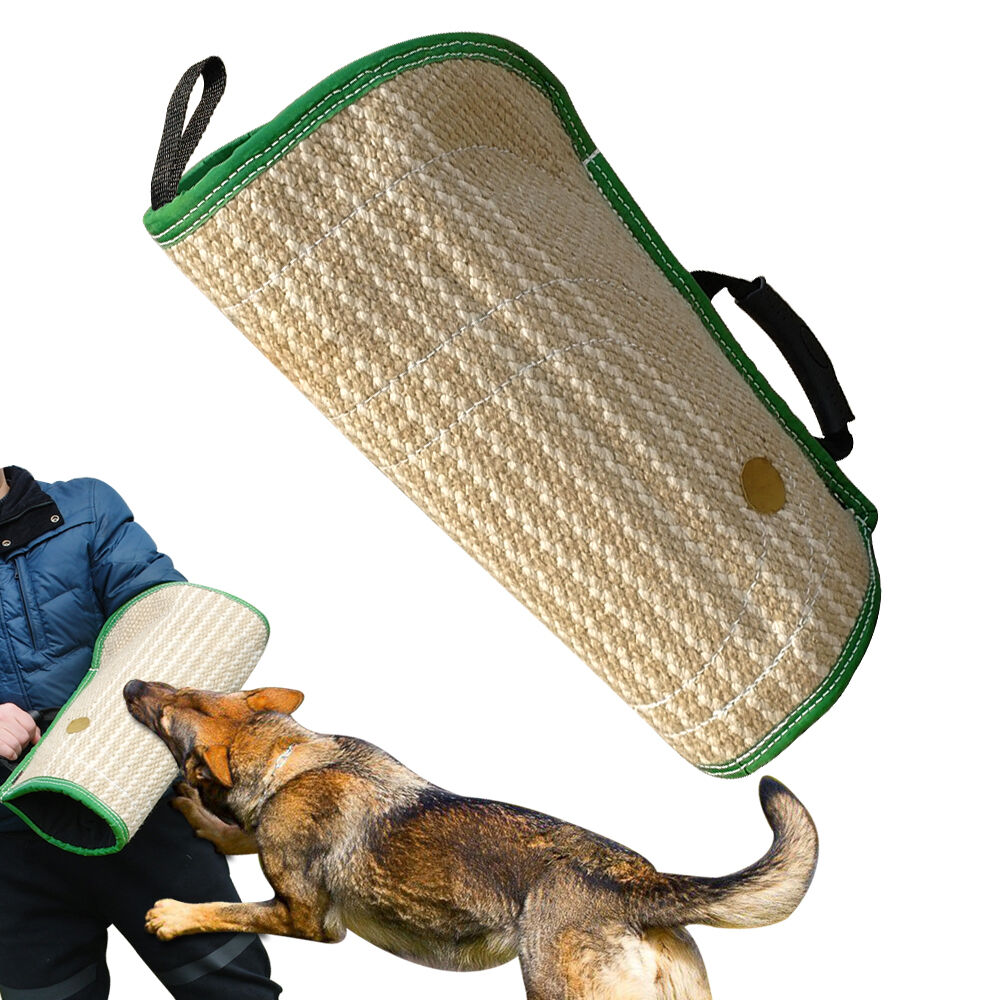 Intermediate Jute Dog Bite Arm Sleeve for Police K9 Schutzhund Training Dogs