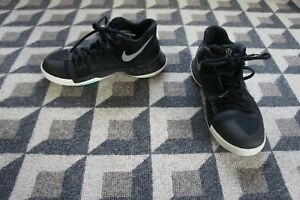 1300b7ac407 Nike Kyrie 3 GS Black Ice Black Metallic Silver White 859466-018 ...
