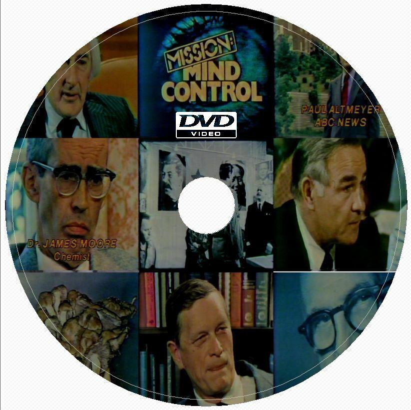 MISSION MIND CONTROL 1979 DVD CIA MIND CONTROL