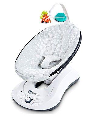 Кресло-качалка RockaRoo Grey Plush 4moms (ФоМамс)