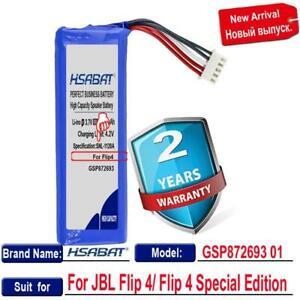 JBL Flip 4 Flip 4 Special Edition Batteries GSP872693 01 Flip4 7000mAh Battery