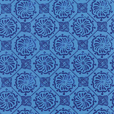 "Horizon 27194-23 Ultramarine Price is for 1 yd 3"" Moda Fabrics by Kate Spain"