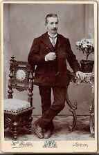 CDV photo Feiner Herr - Steyr 1900er