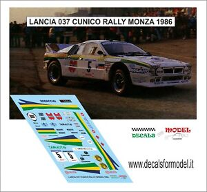 1:43 decal Racing43:Mitsubischi Lancer evo6-Rally Sanremo 2000-Aghini