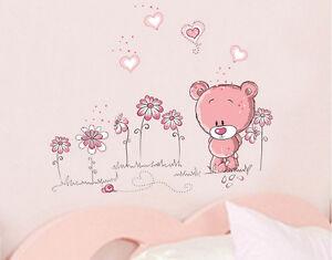 Vinilo-Pegatina-infantil-034-Osito-034-Bear-wall-sticker-ESPECIAL-NINOS