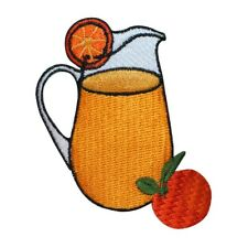 Vintage Retro Tuesday Morning Employee Store Embroidered PatchNavy Blue Orange