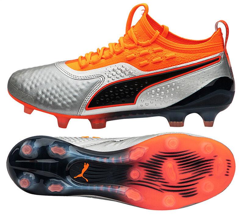 Puma uno 1 Lth FG AG (10473501) fútbol Zapatos botas De Fútbol Tacos