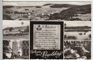 54639-Foto-AK-Vogelsberg-Mehrbildkarte-m-Taufstein-Forellenteiche-1967