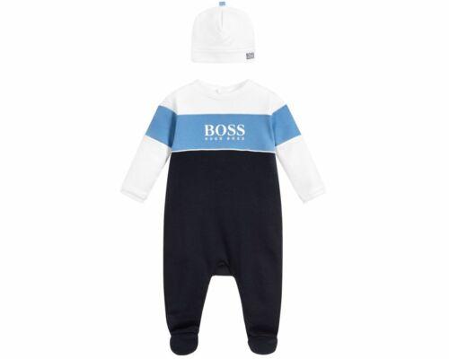 Hugo boss Baby/'s J98233 V41 Strampler Satz Dunkelblau Body Overall