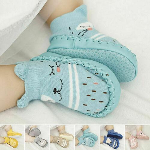 Newborn Baby Soft Sole Crib Shoes Infant Boy Girl Toddler Anti Slip Soft Socks