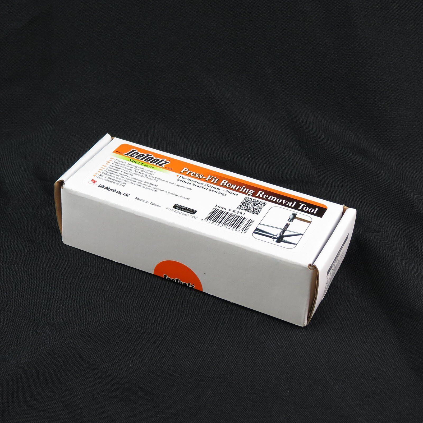 diameter 24-30mm IceToolz E293 Xpert Bike Press-fit Bearing Removal Tool