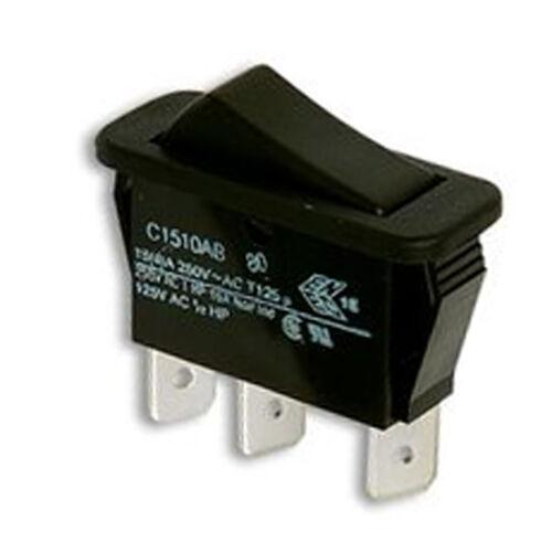 12v 24v DC or 250v AC Switch ARCOLECTRIC plain rocker ROS103A changeover