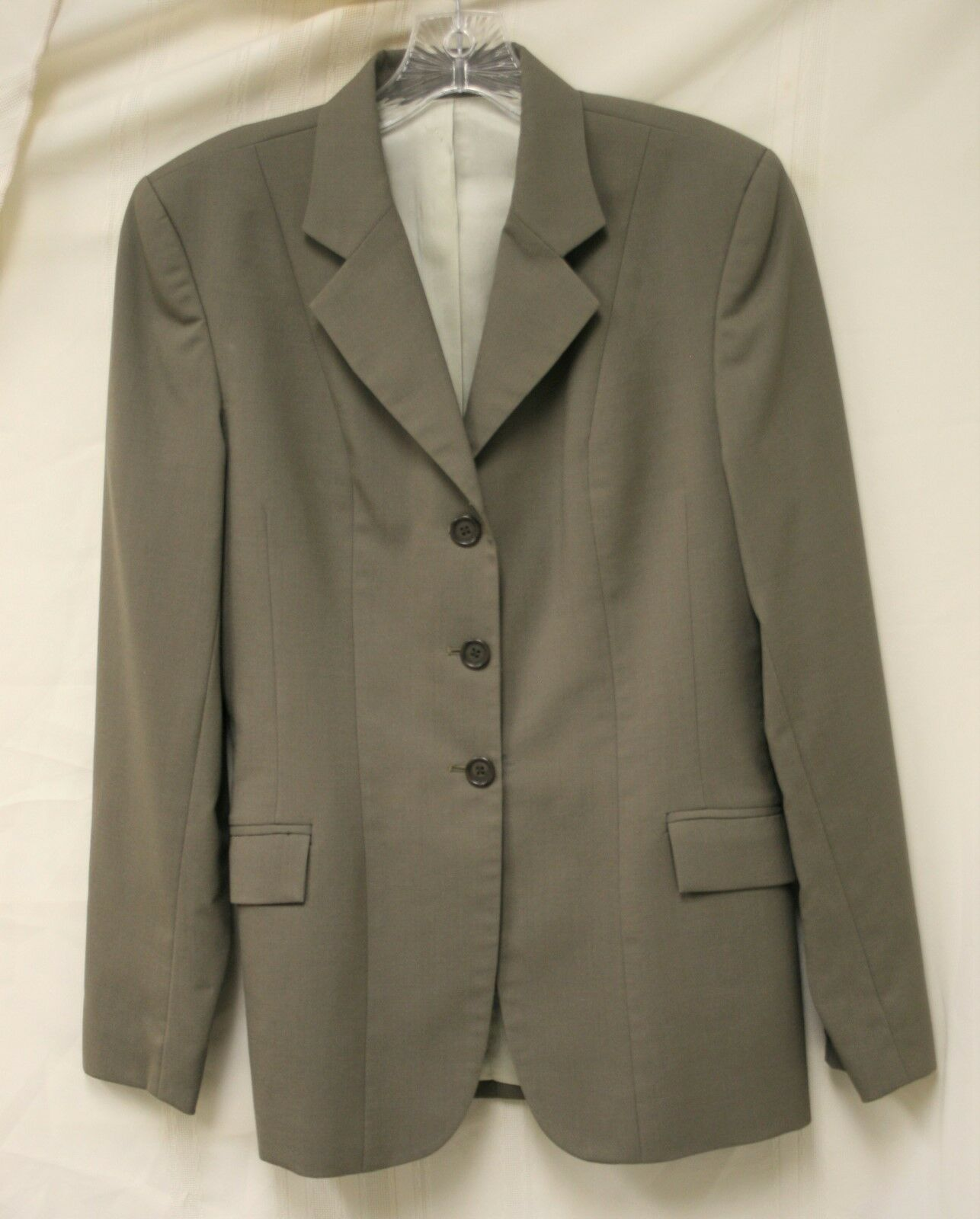 USED Marigold Hunt Seat Show Coat - Size 12, Taupe