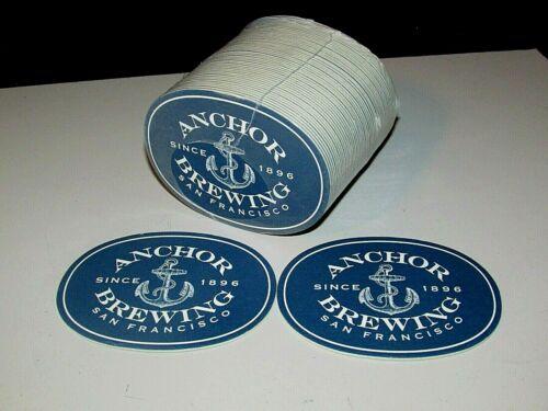 NEW 50 Anchor Brewing San Francisco Steam Pub Party Bar beer Coasters Lot