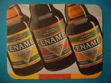 BELGIUM Beer Bar Coaster ~ Roman Brewery ENAME Abdijbier, Oudenaarde, Belgium