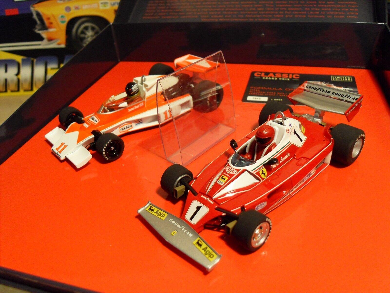 Scalextric C2558a - McLaren M23 & Ferrari 312T2 'Hunt & Lauda ' - Brand New.