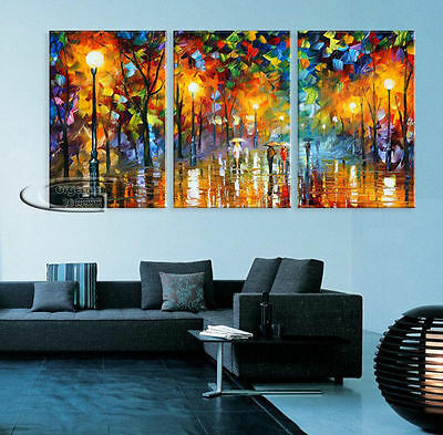(Framed) Modern Abstract Wall Decor oil painting on art canvas