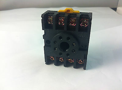 10pcs New PF083A 8-Pin  Relay Socket Holder for MK2P-1 JQX-10F