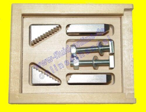 PROXXON 24256 Stufen Spannpratzen aus Stahl im Holzkästchen f MF70 KT70 GE70 NEU