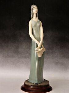 "Vintage Grafenthal figurine ""FILLE AVEC PANIER"" par Carl Scheidig ~ GRATUIT UK POSTE"