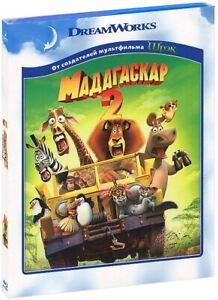 Madagascar Escape 2 Africa Blu Ray Eng Rus Hebrew Romanian Latvian Estonian 97361405049 Ebay