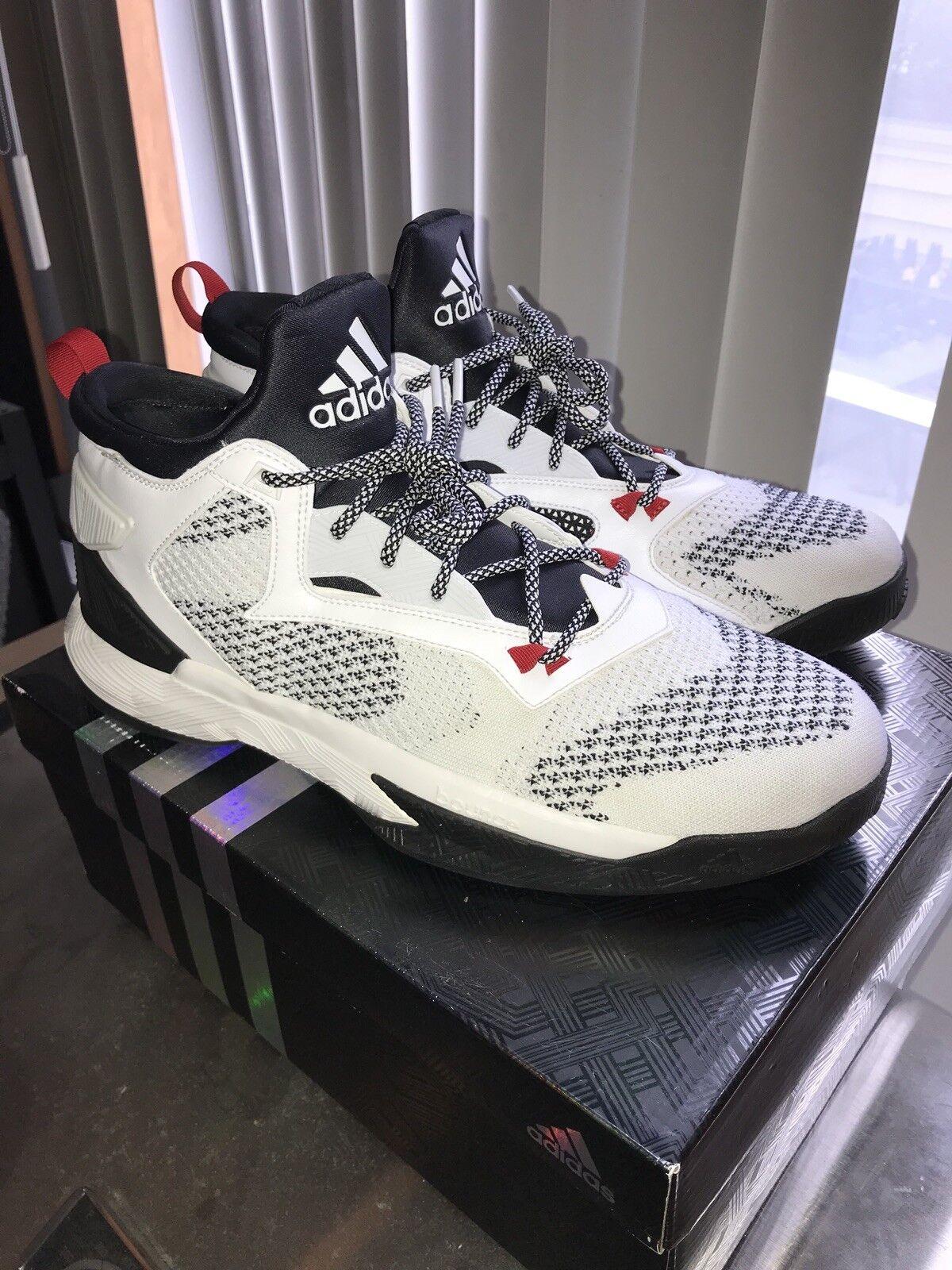 Adidas D Lillard 2 primeknit Rip City size 12