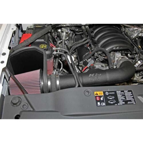 Red Cotton Filter K/&N Cold Air Intake Performance Kit 63-3082; 11 HP Black Pipe