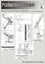 Steadicam Kamerakran Dolly usw. im Eigenbau 224 Patente
