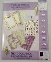 Ultra-pro 8.5 X 11 Scrapbook Page Angels Inspirational Series Paper Kit