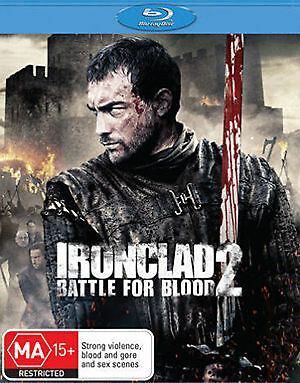1 of 1 - Ironclad 2 - Battle For Blood (Blu-ray, 2014) 'EX RENTAL'