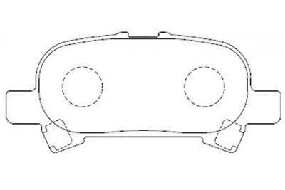 Semi Metallic Brake Pad for Toyota RAV4 06-13 Camry 07-13 D1212-8332 QC1212