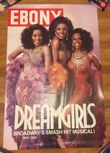 """Vtg 1982 EBONY Magazine Cover """"Dream Girls"""" Broadway ..."""