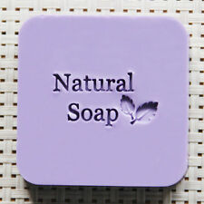 Soap Seal Stamp Mold Chapter Natural Acrylic Organic Glass Customized DIY 4X4CM