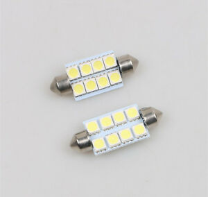 2x white interior led light smd bulb package kit for 2007 - Led interior lights for 2013 chevy silverado ...