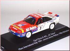 Opel Manta B 400 AC Delco Sieger winner Manx Rally Rallye 1984 #3 McRae 1:43 LE